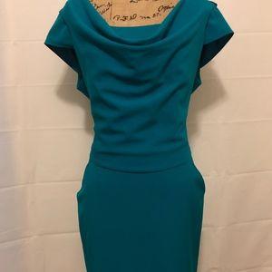 Calvin Klein cowl dress